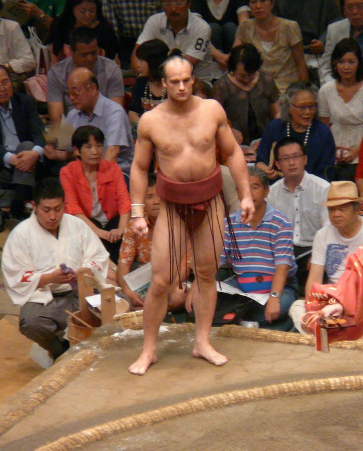 Chudy wojownik sumo