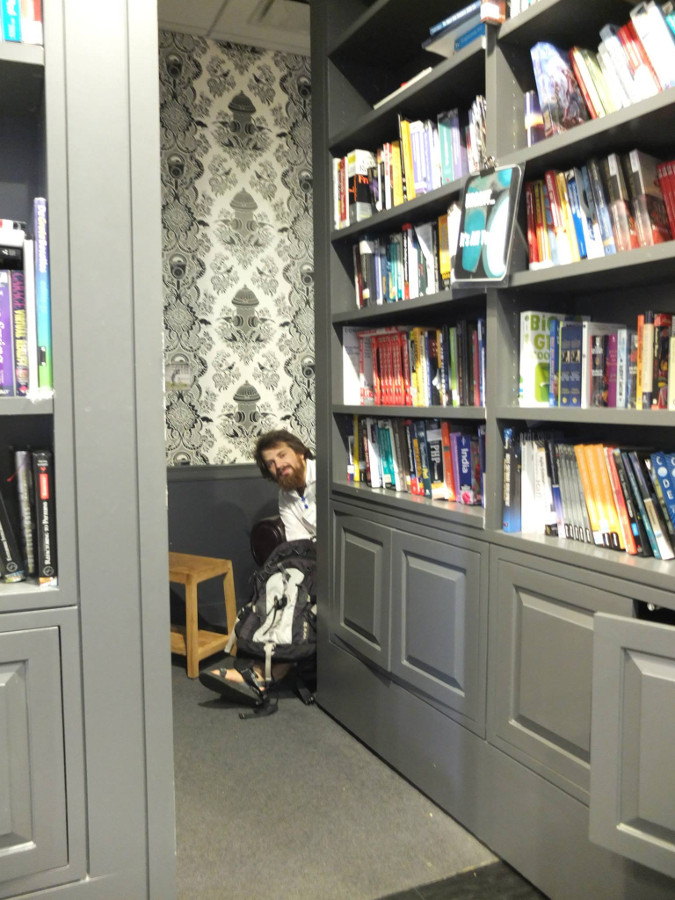 Biblioteka w siedzibie Google