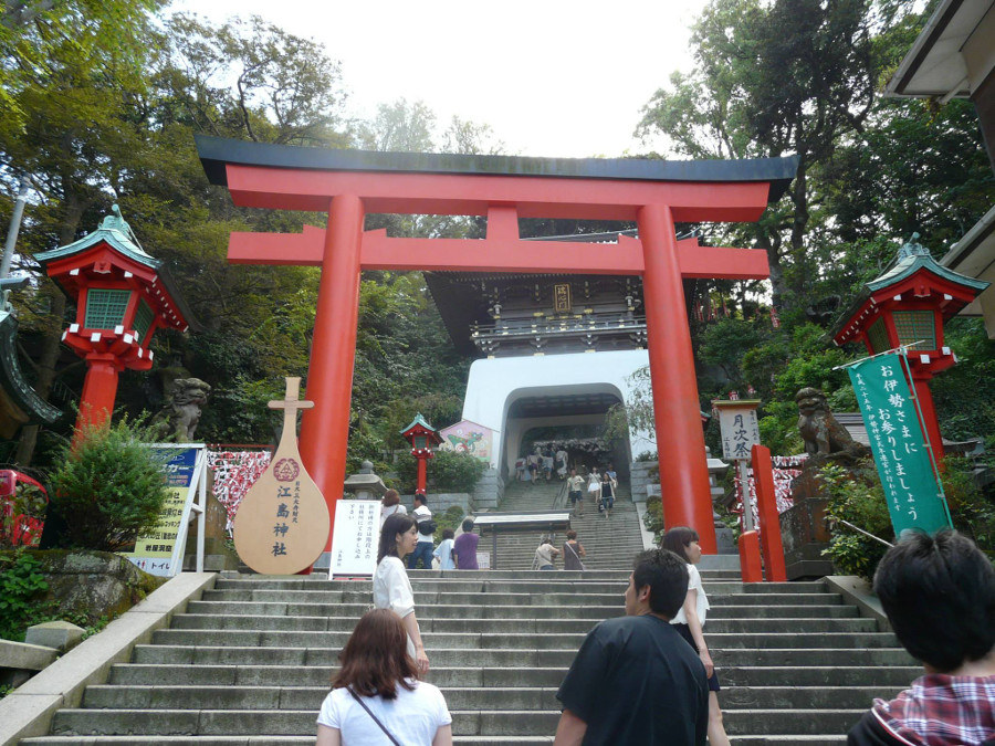 Stairs in Enoshima