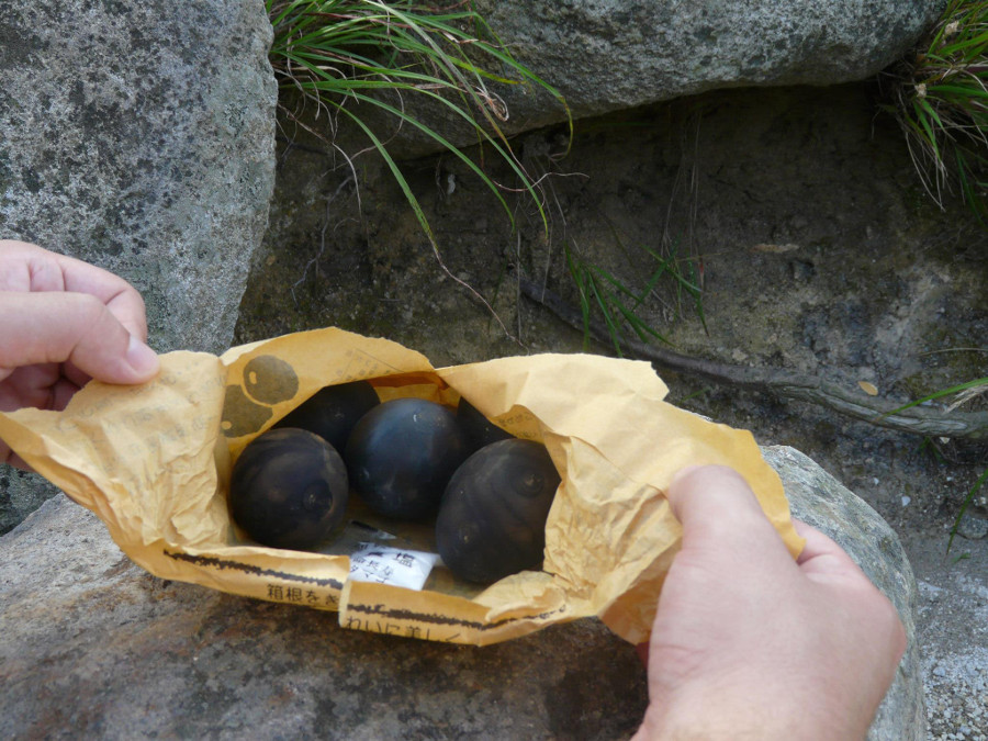 Eggs from Hakone