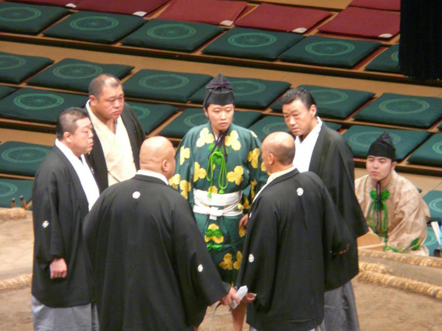 Sędziowie sumo