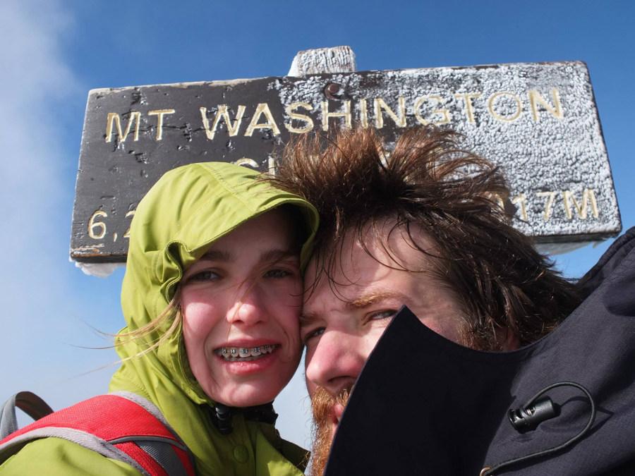 Góra Waszyngtona, zimno i mróz