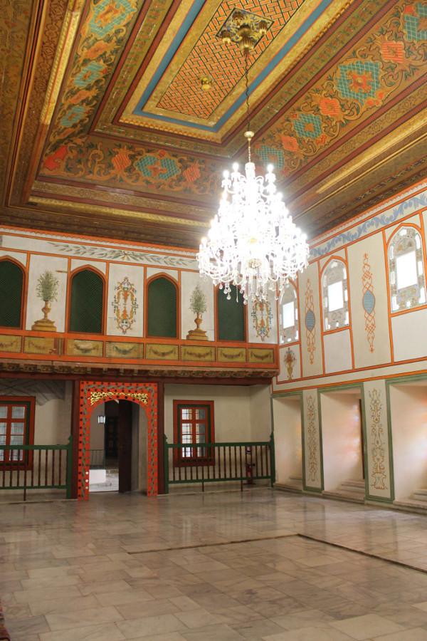 Komnaty pałacu chanów w Bakczysaraju
