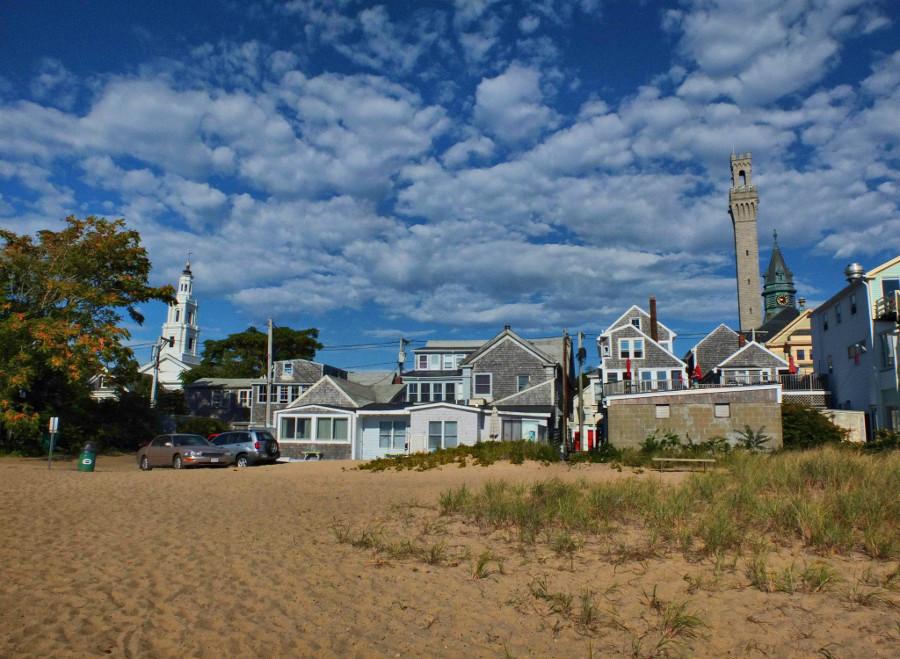 Piękna plaża w Provincetown