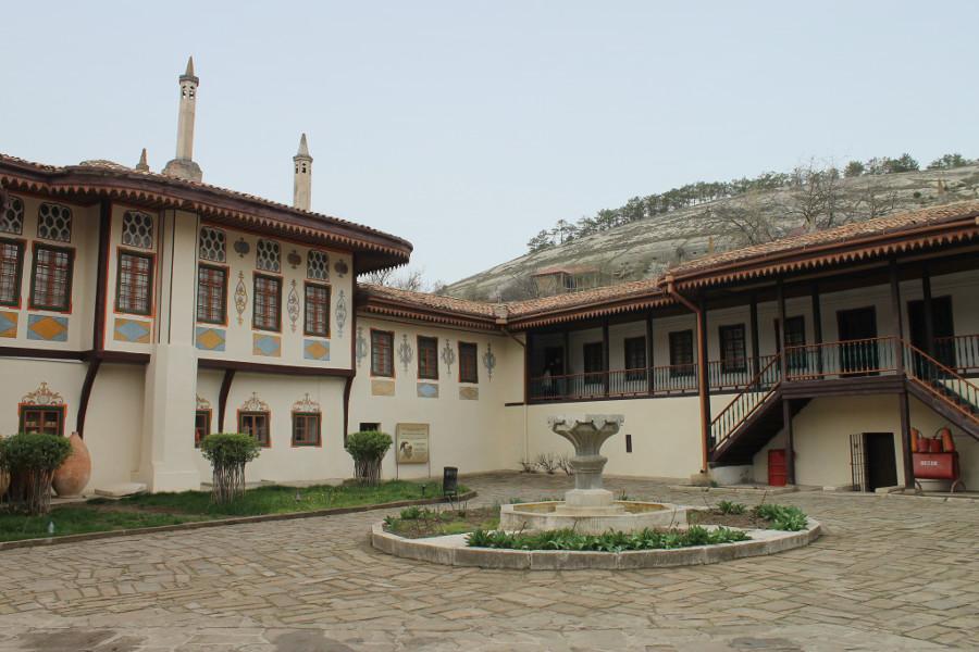 Fontanna w Bakczysarajskim pałacu
