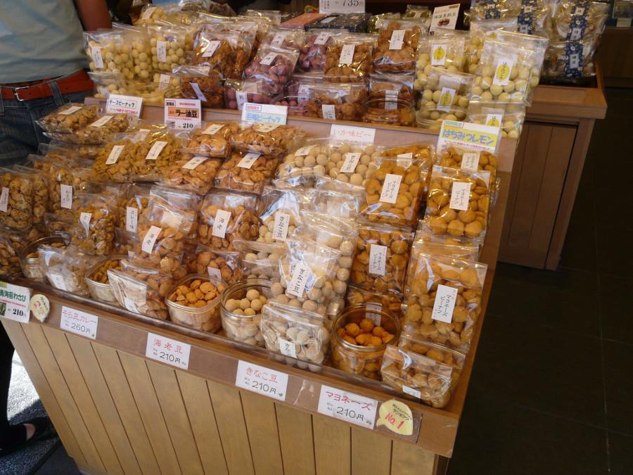 Enoshima's shops