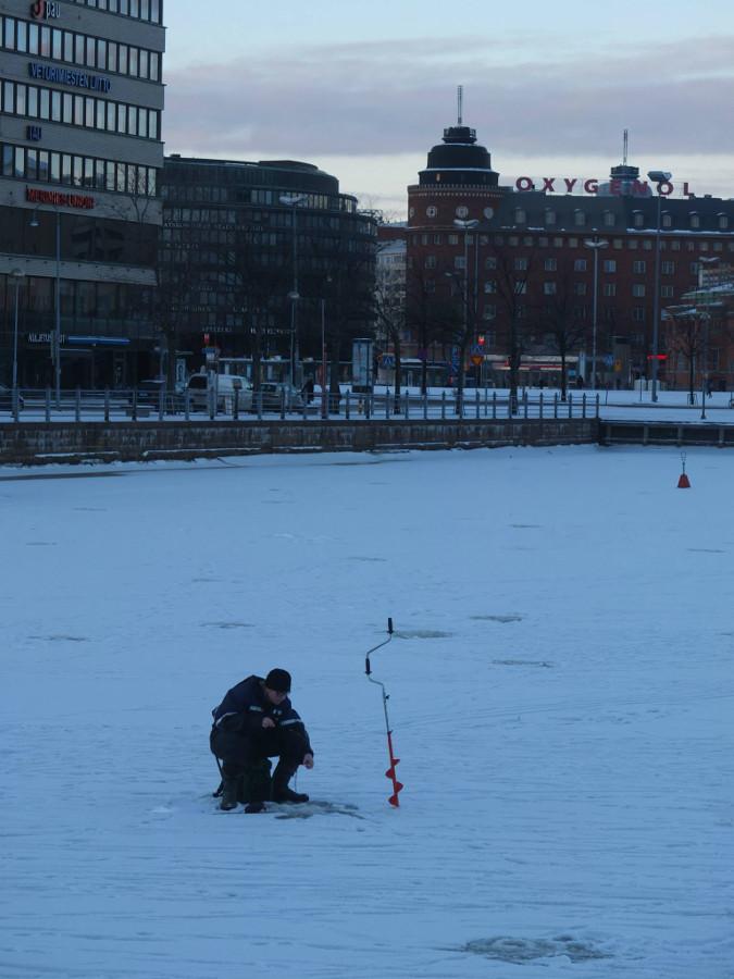 Zimowo w Finlandii