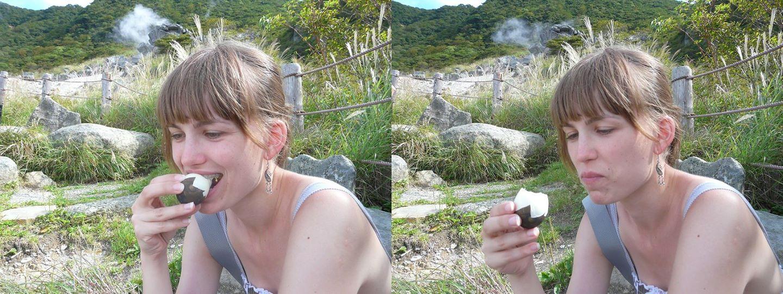 Jajka w Hakone