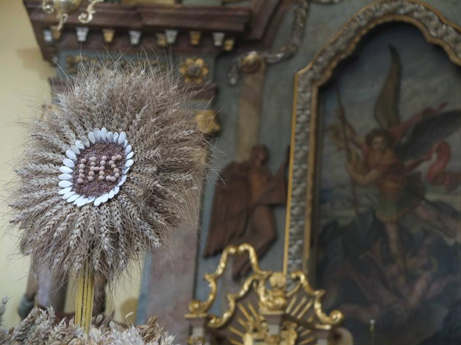 Dożynkowa korona