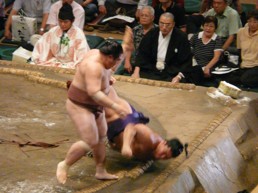 Injuries in sumo