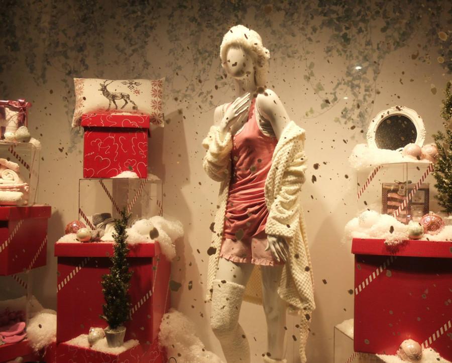 Wystawa sklepowa w Finlandii