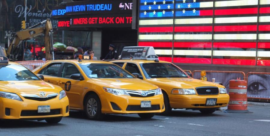 Żółte taksówki Nowy Jork