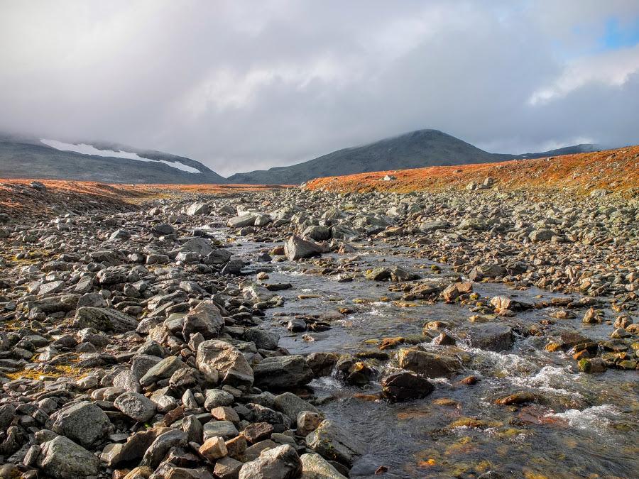 Rzeka niedaleko Halti