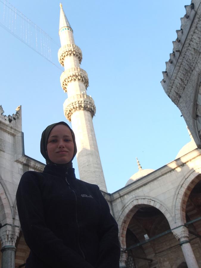 Zakryj się w meczecie