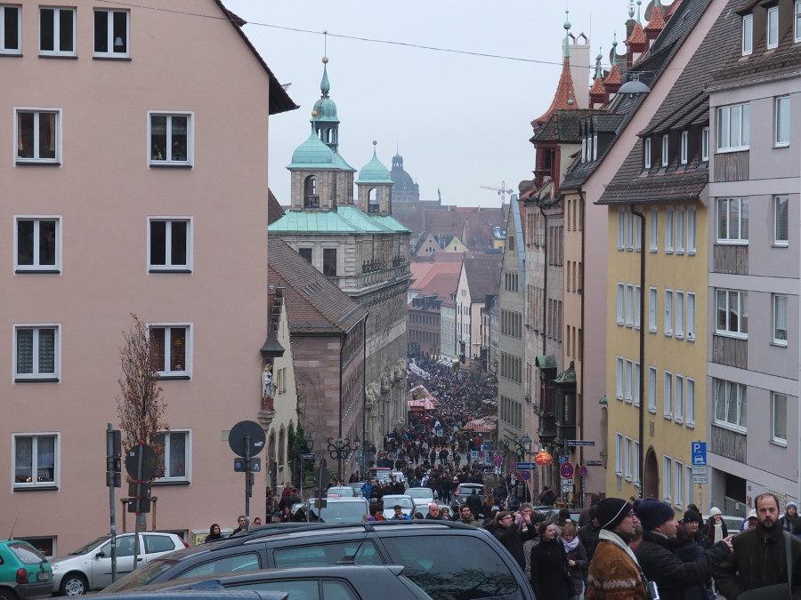 Turyści ściągają do Norymbergi