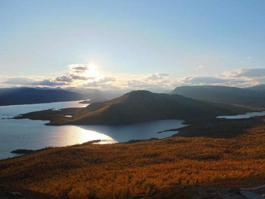 Widoki w Laponii