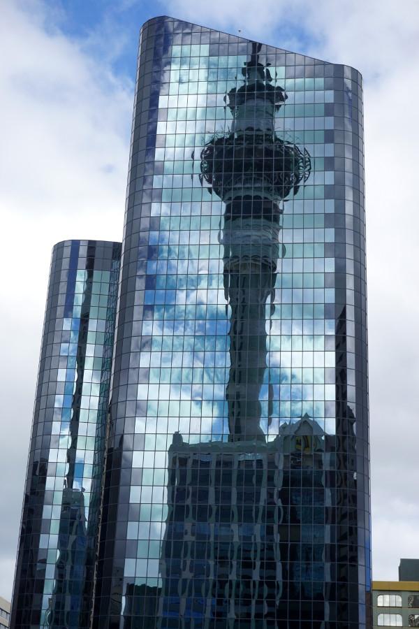 Drapacz chmur w Auckland