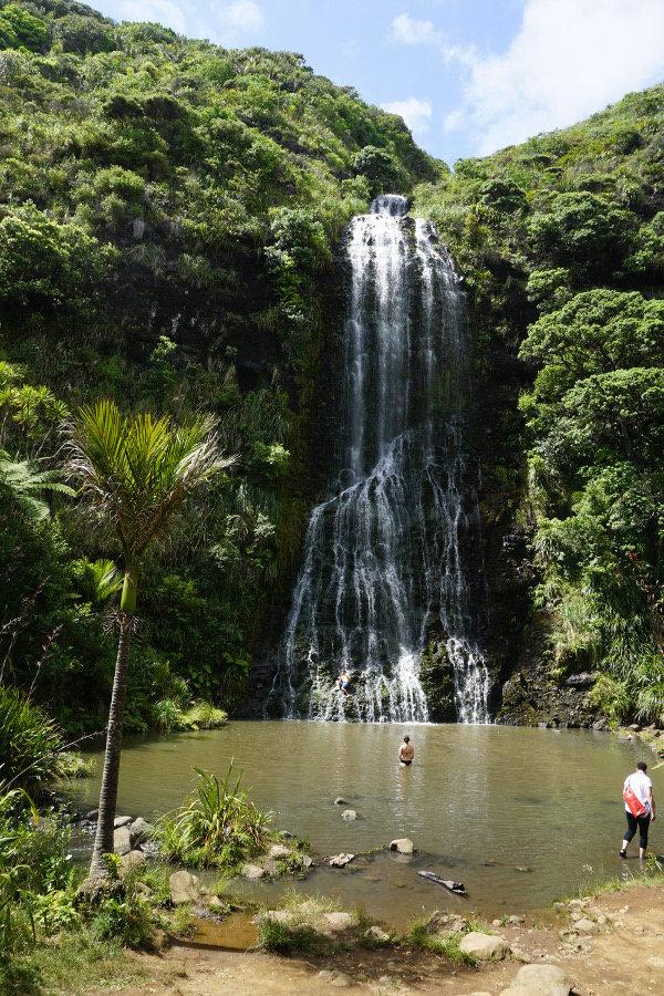 Wysoki wodospad