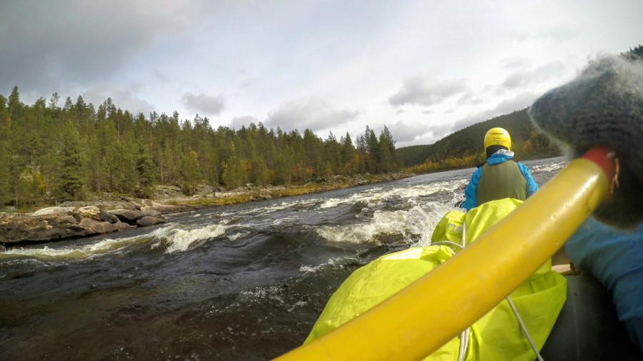 Spływ rzeką Ivalo