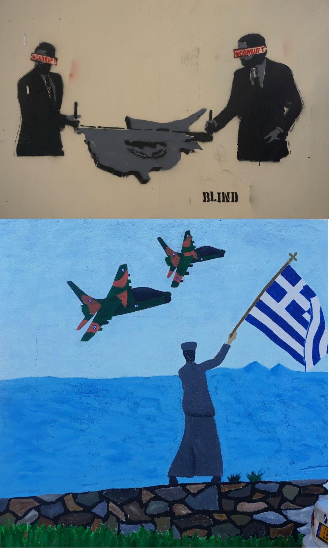 Murale w Nikozji