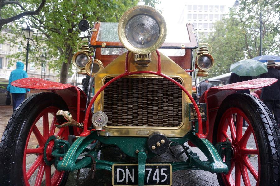 Zlot starych aut Dunedin