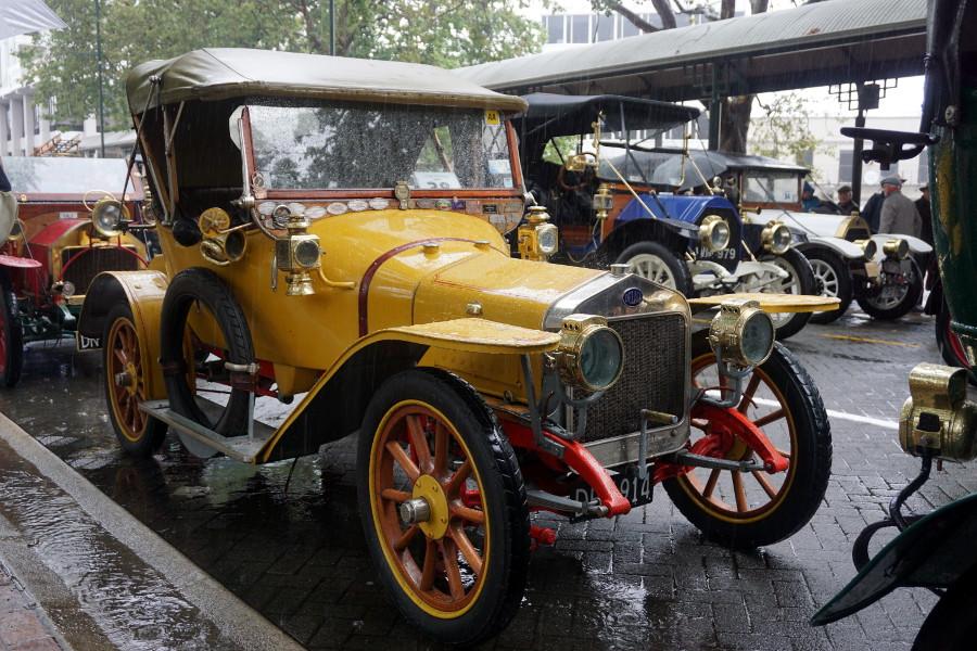 Stare samochody Dunedin