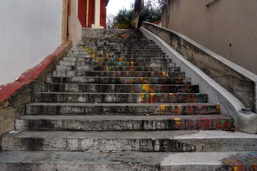Schody w Pafos