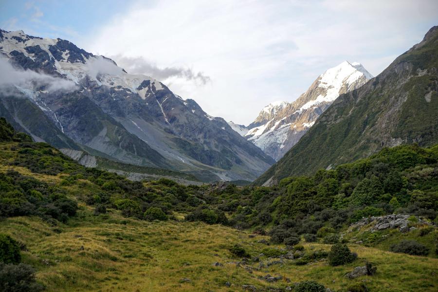 Widok na Mt Cook