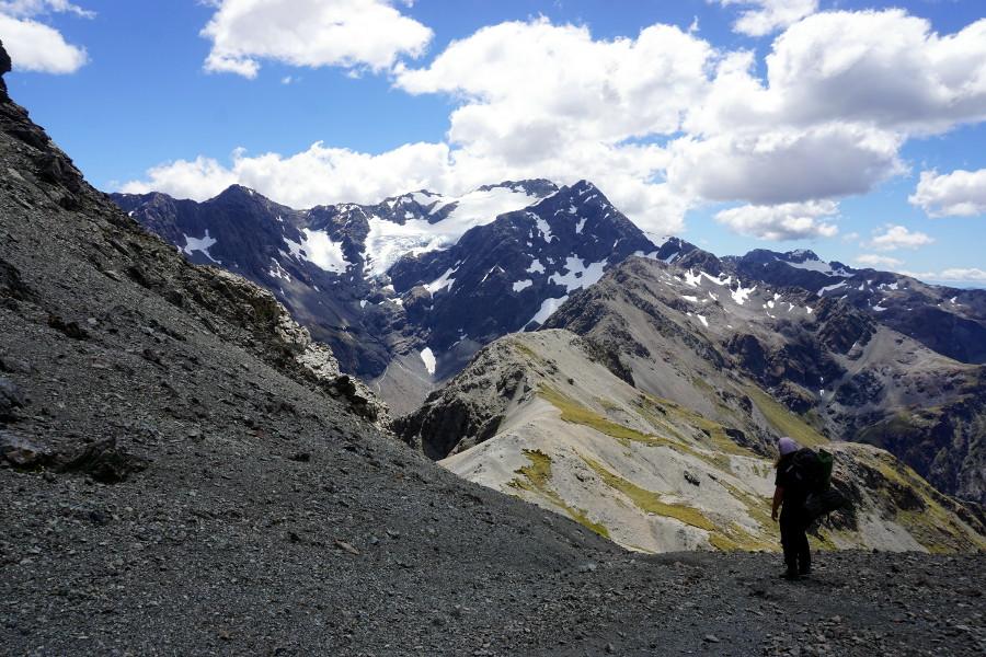 Droga na Avalanche Peak
