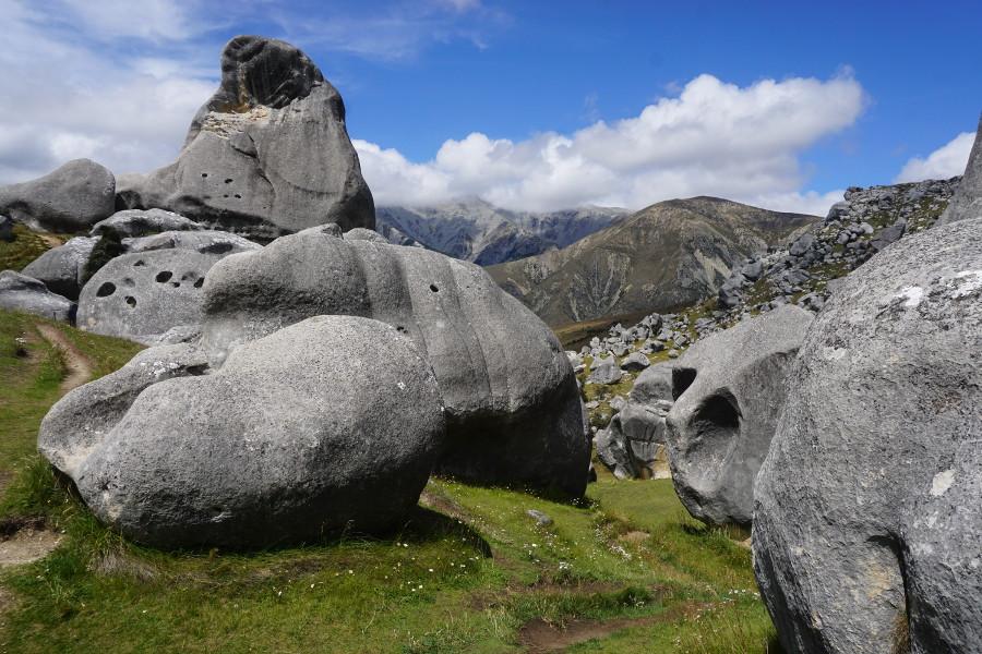 Nowa Zelandia bouldering