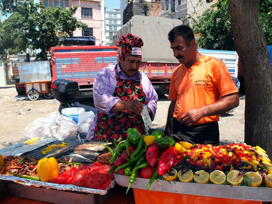 Rybny kebab