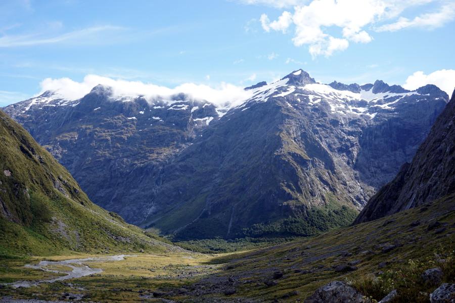 Piękne nowozelandzkie góry