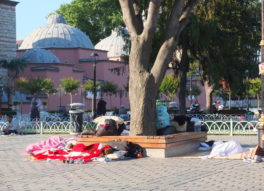 Bezdomni w Stambule