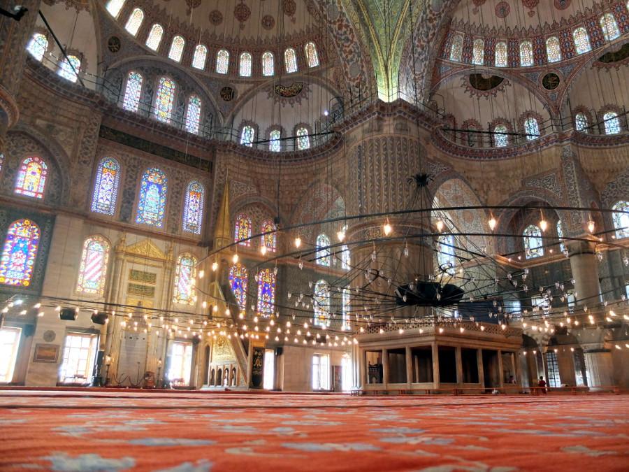 Piękne wnętrza Turcja